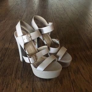 Lauren Conrad Faux Leather Heels